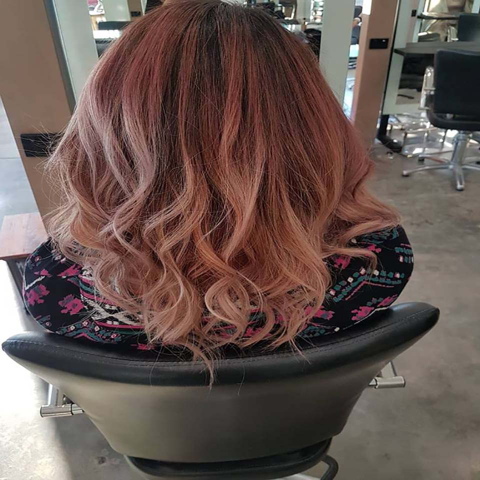 Ladies Hair cut & Colour