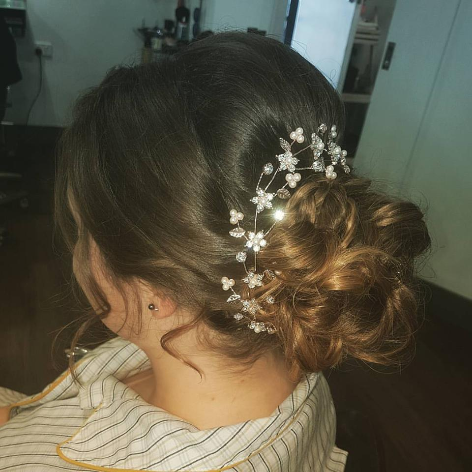 Ladies Hairdresser for wedding hair adelaide